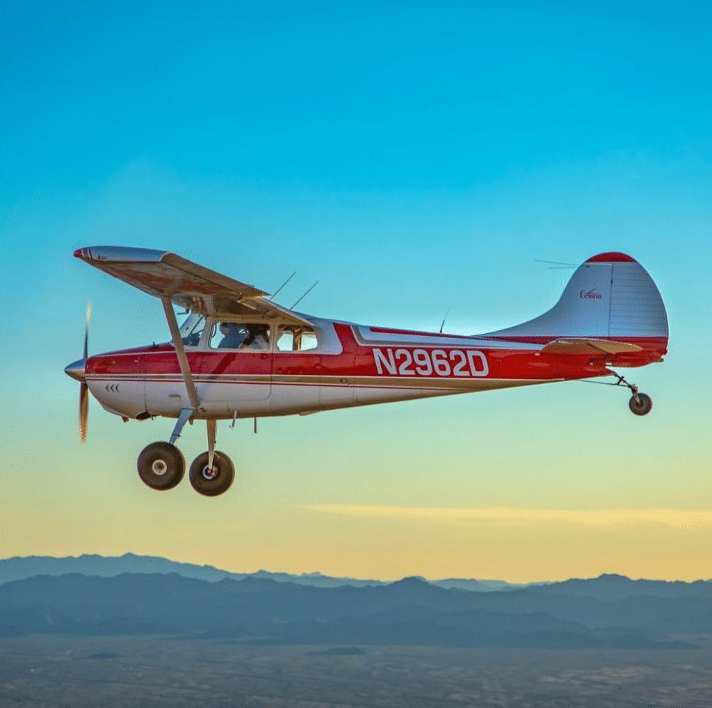 Cessna 170 Tailwheel Airplane