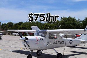 Cessna 150 rental airplane